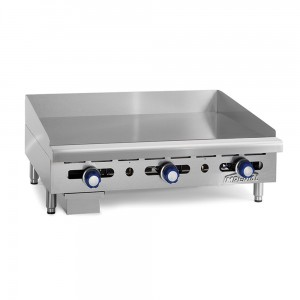 24%22 Manually Controlled Gas Griddles