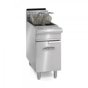 25-25 Lb. Gas Range Match Split Pot Fryers