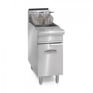 40 Lb. Gas Range Match Fryers