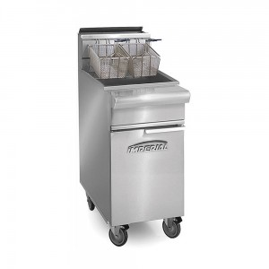40 Lb. Gas Range Match Open Pot Fryers