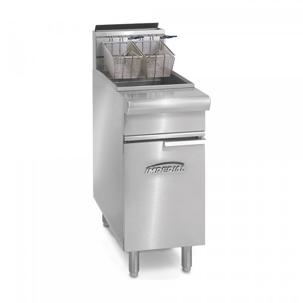 50 Lb. Gas Range Open Pot Fryers