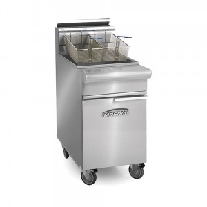 75 Lb. Gas Range Match Open Pot Fryers