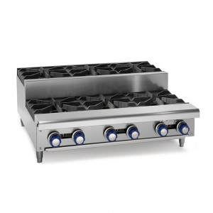 Gas Step-up Hot Plates