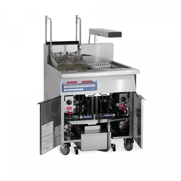 Gas Tube Fired Fryer-Filter Systems Drain Station Pre-Packaged