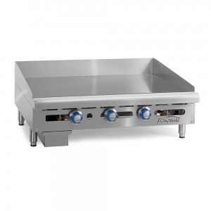 Thermostatically Controlled Gas Griddles