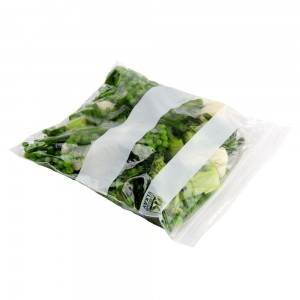 sealed top bag - zip lock