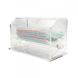 Acrylic Straw Drawer