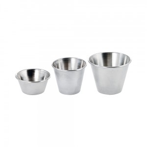 Stainless Steel Sauce Cups