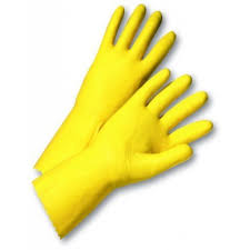 yellow glove