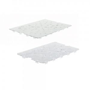 polycarbonate drain shelf