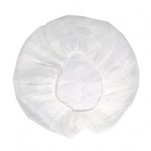 buffant cap white