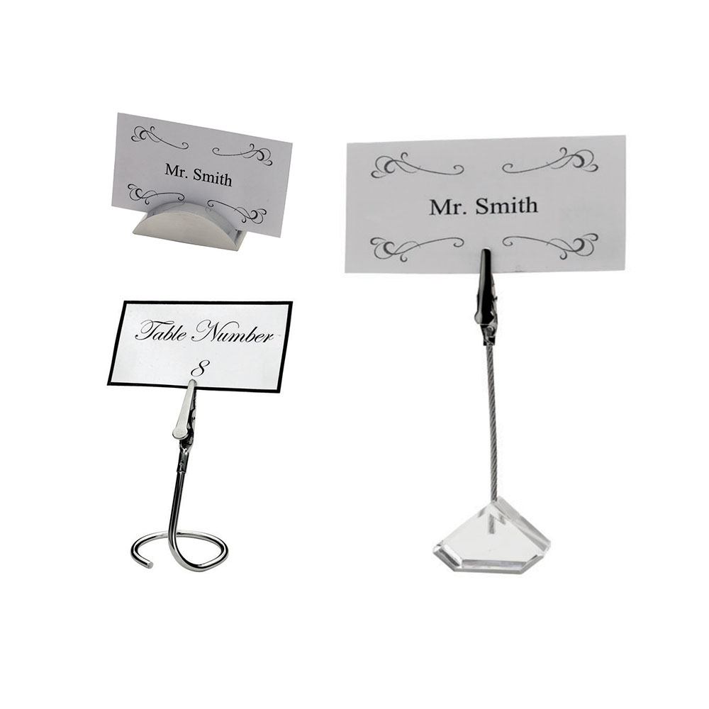 Dining Service Table Sign Holders Winco Trenton China Restaurant - Restaurant table sign holders