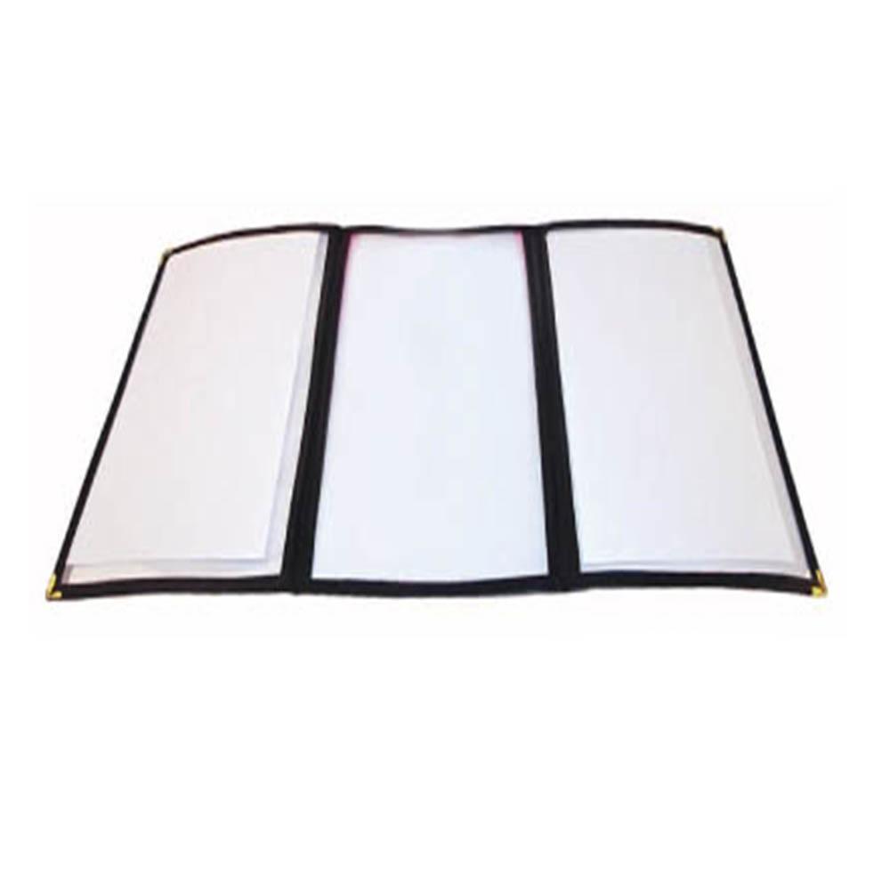 tri fold menu covers winco trenton china restaurant equipment