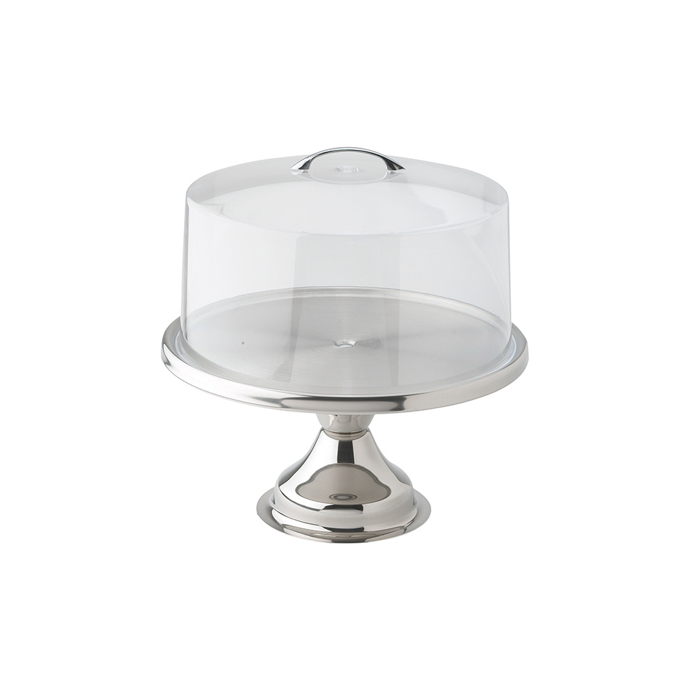 Rectangular Cake Stand With Cover
