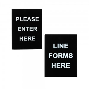 stanchion-frame-signs